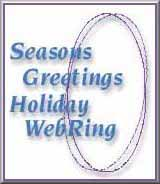 The Seasons Greetings Holiday WebRing