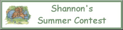 Shannon's Summer Contest